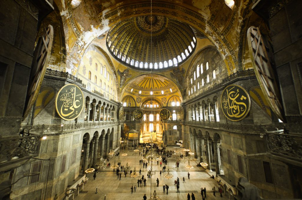 One of the most important historical buildings in the world, the Hagia Sophia (Ayasofya), is a great feat of art and architecture and considered to be the 8th wonder of the world