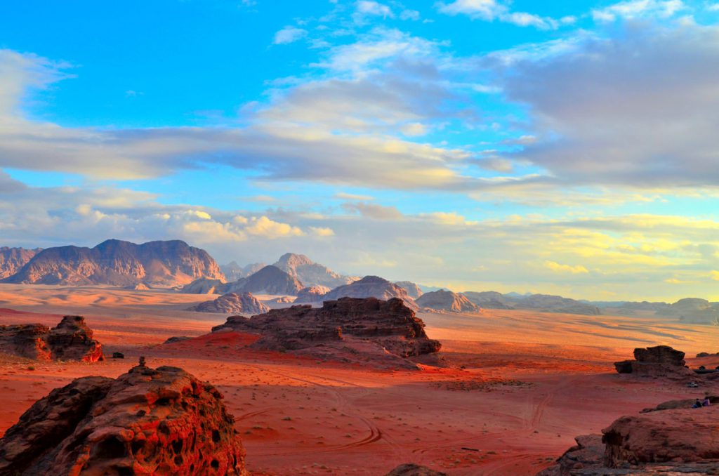 Вади Рам, одна из самых красивых пустынь в мире.