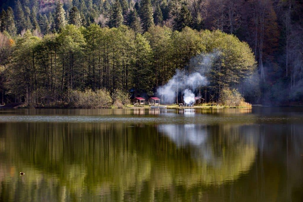 Karagöl Artvin campsites