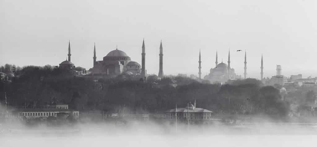 The Hagia Sophia, an icon of Istanbul's silhouette