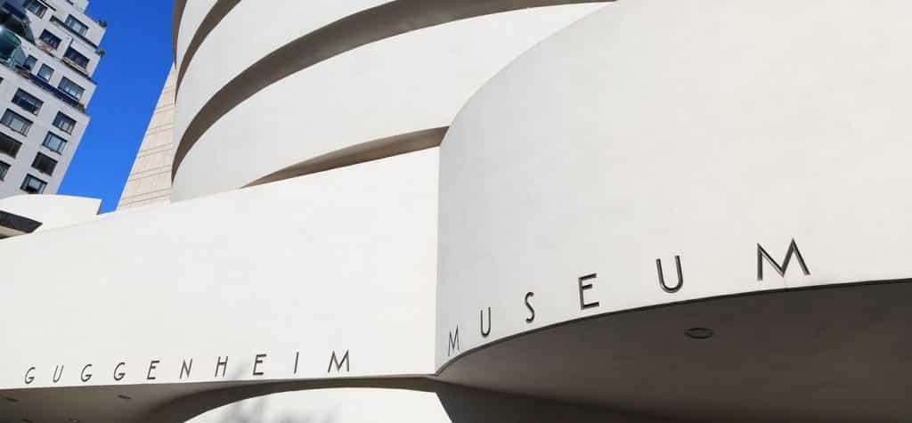 The Guggenheim, for contemporary art