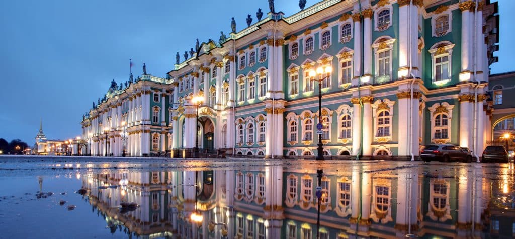 A legacy of Tsarist Russia, the Hermitage Museum