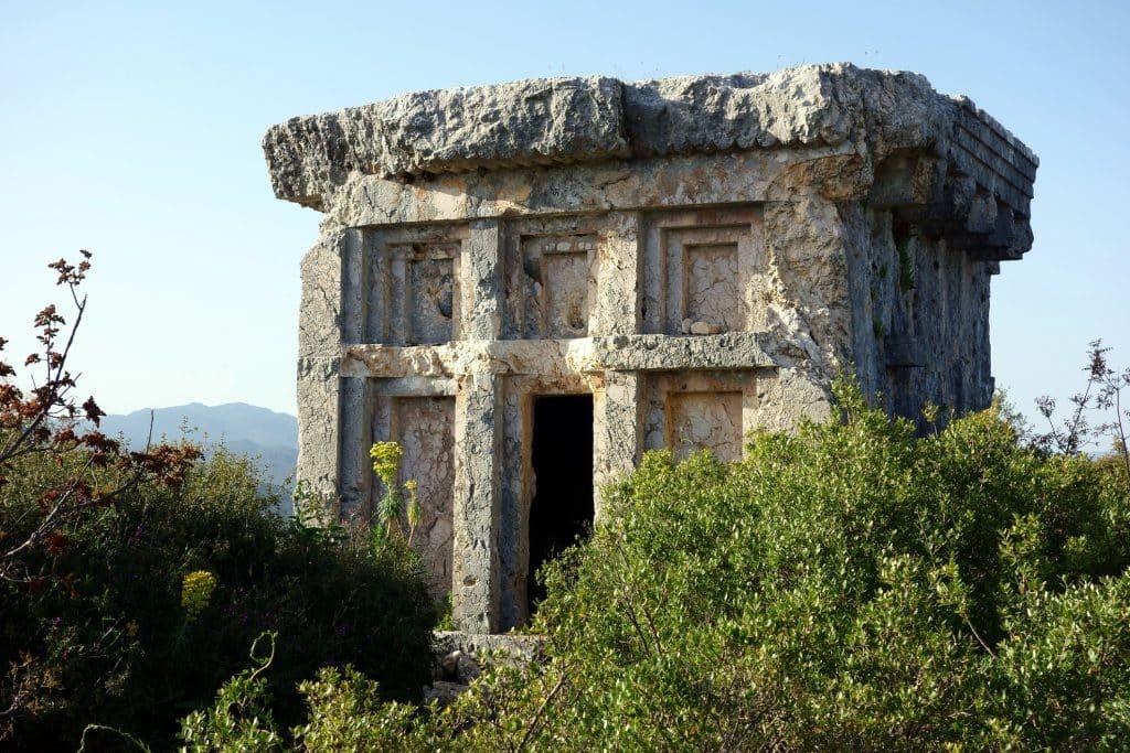 Phellos Ancient City ruins