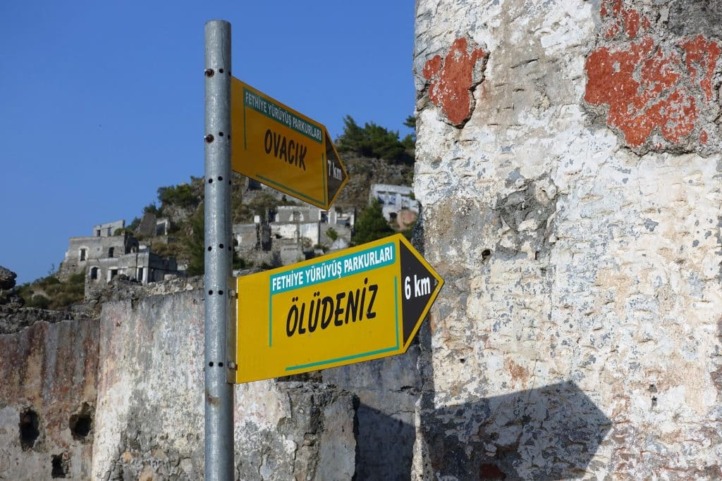 Road signs for Lycia