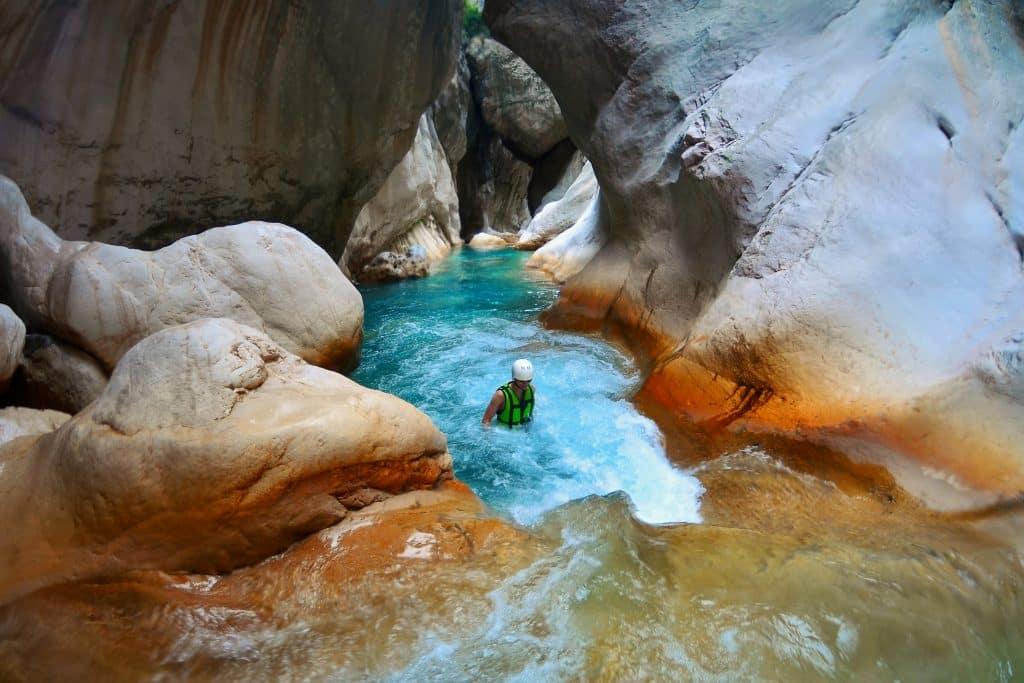 Rafting in Saklıkent Canyon