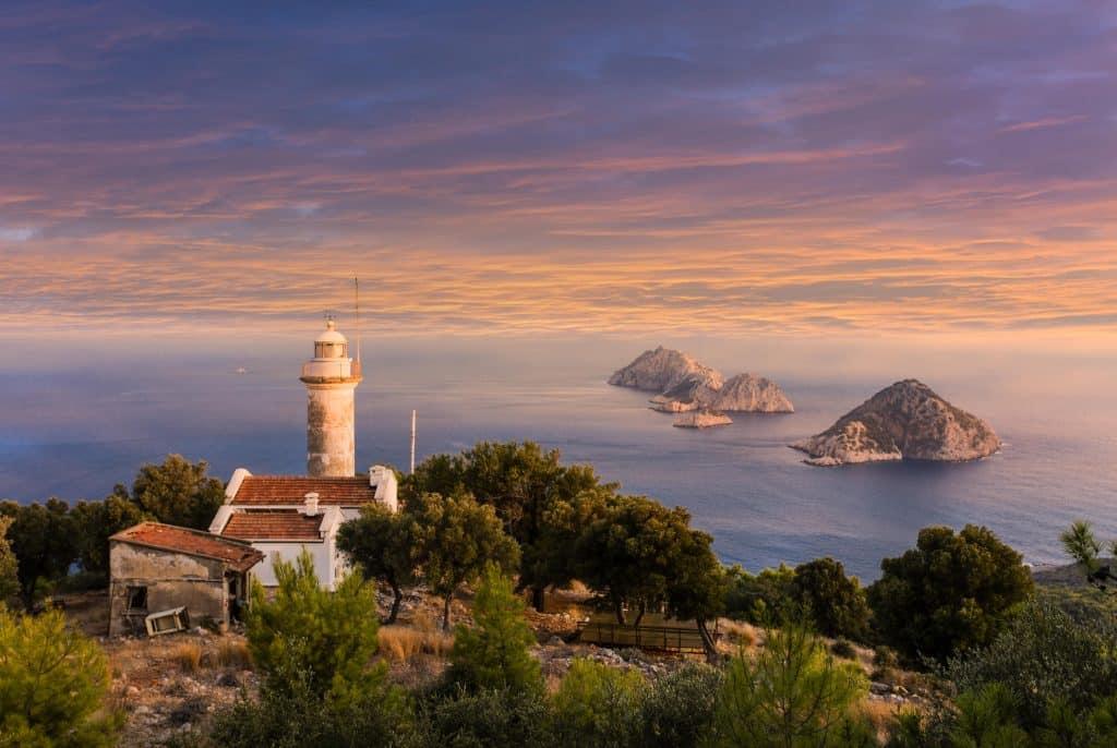 Gelidonya Lighthouse overview
