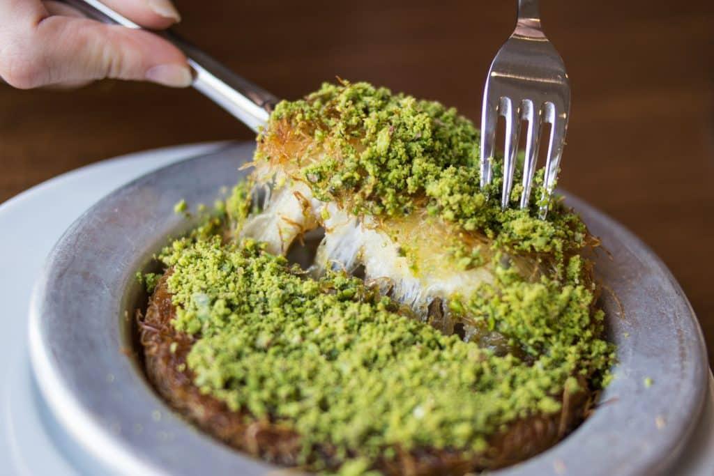 Künefe, the star of Hatay cuisine