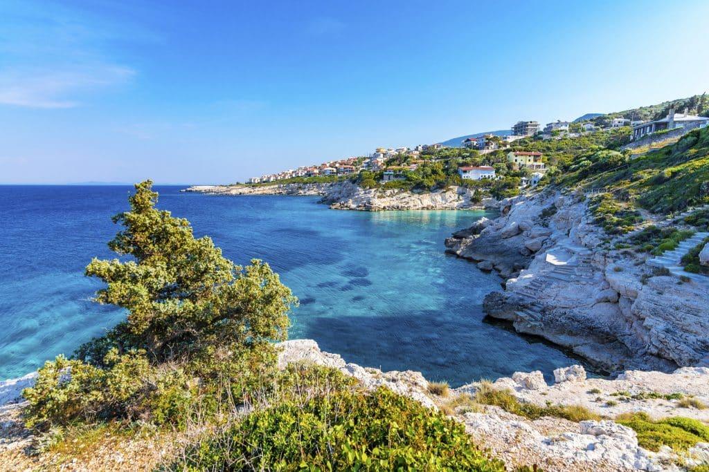 A magnificent bay view from Karaburun, Izmir